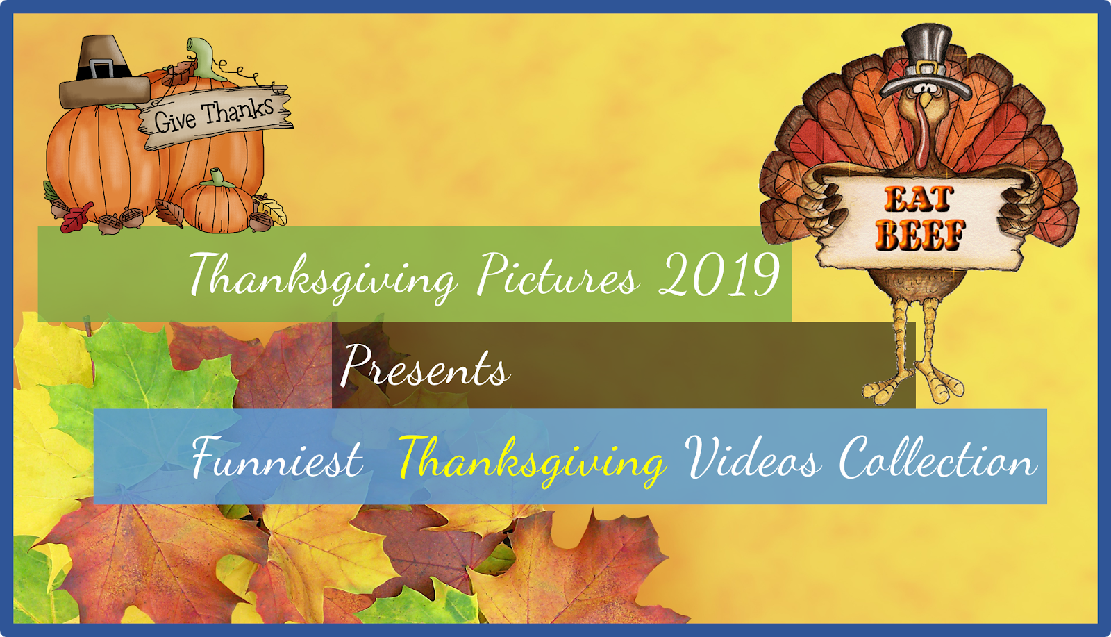 Thanksgiving pictures 2019